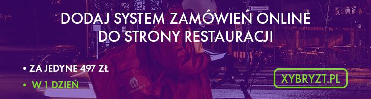 zamówienia online restauracja
